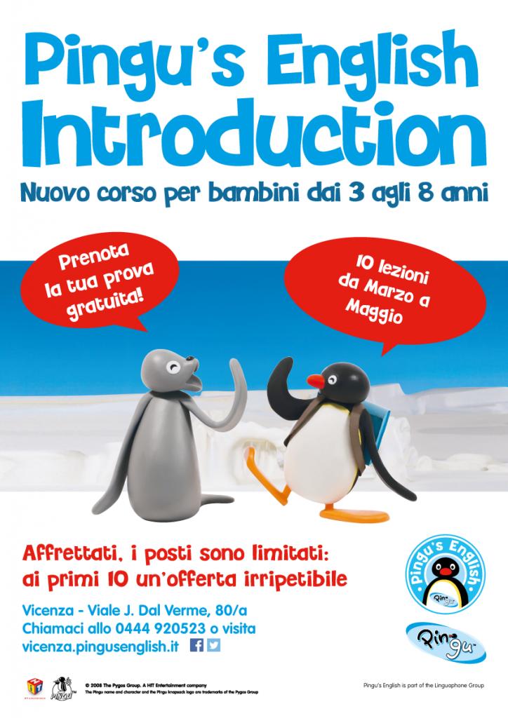 "Corso di inglese per bambini ""Pingu's English Introduction"""